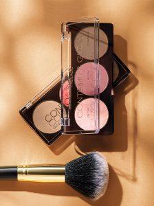"Paleta para esculpir la cara Contour & Glow Glam Team, tono ""Brillo rosa"""