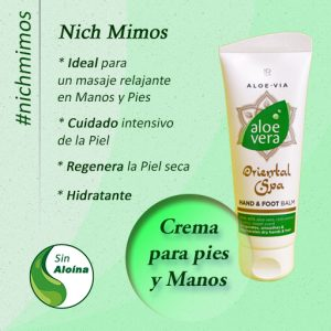 Spa Crema balsamo, útil para masajes