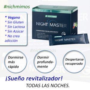 Night Master, Dormir Bien, Vegano